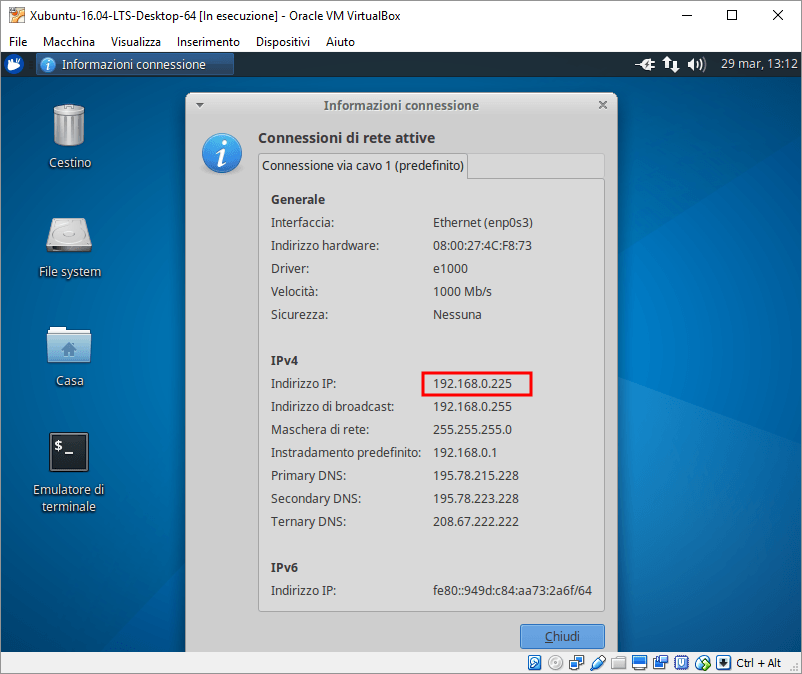 Remote Desktop Xubuntu 3