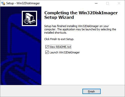 win32diskimager Screen 5