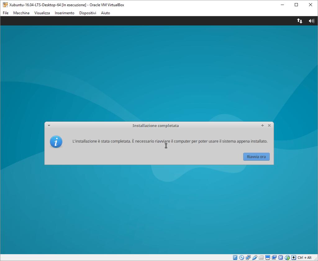 Installazione Xubuntu passo 10