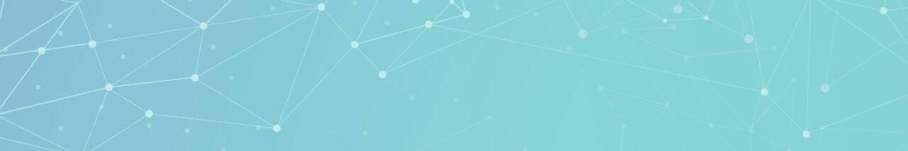 Network dots green-blue