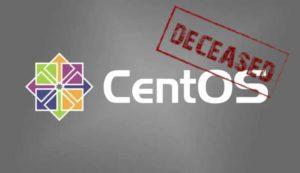 La fine di CentOS